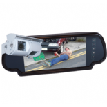 "REAR VIEW SYSTEM WITH 7"" MIRROR MONITOR & DOUBLE SONY CCD CAMERA"